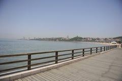 Strand in QingDao Stockbilder
