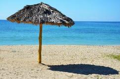 Strand Rancho Luna, Cienfuegos i Kuba Fotografering för Bildbyråer