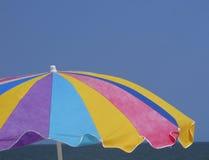 Strand-Regenschirm Stockfoto