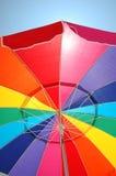 Strand-Regenschirm Lizenzfreie Stockfotografie