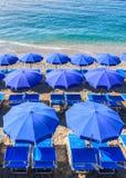 Strand-Regenschirm III Stockbilder