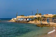Strand-Reifen Sur der Süd-Libanon stockfotografie