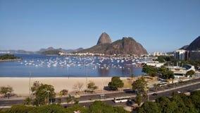 Strand Rio de Janeiro Arkivbilder
