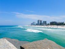 Strand in Rio de Janeiro, Brazilië Stock Fotografie