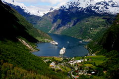 Geiranger,Norway Stock Images