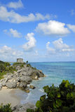 Strand-Ruinen Lizenzfreies Stockfoto