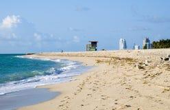 strand södra miami Fotografering för Bildbyråer