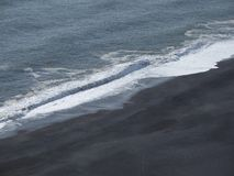 Strand in Süd-Island Stockfotografie