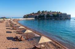 Strand San Stefano Arkivfoto