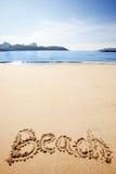 Strand-Sand Stockfotografie