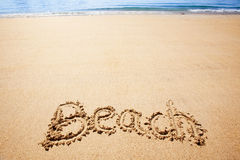 Strand-Sand Stockbilder