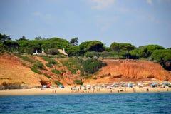 Strand Santa Eulalia Stock Afbeeldingen