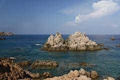 strand sardinia Royaltyfria Foton