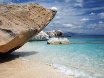 strand sardinia Fotografering för Bildbyråer