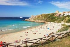Strand in Sardinien Lizenzfreie Stockbilder
