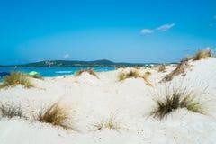 Strand in Sardinige Stock Afbeelding