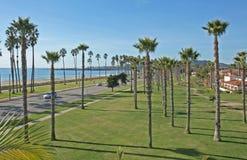 strand sceniska Kalifornien arkivbilder