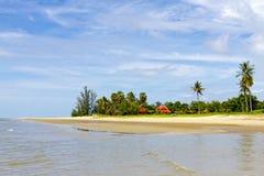 Strand schön und ruhig stockfotografie