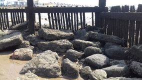 Strand schaukelt Hunstanton Stockfoto