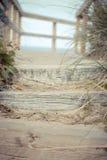 Strand-Schritte Lizenzfreie Stockfotografie