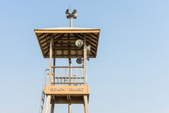 Strand-Schutz Tower Lizenzfreie Stockfotografie