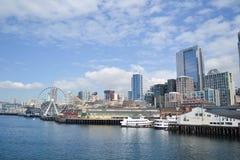 Strand Seattle, Washington royaltyfri bild