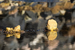 Strand-, See- und Felsenlandschaftsfoto stockfotos