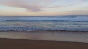 Strand-Seelandschaft stock footage