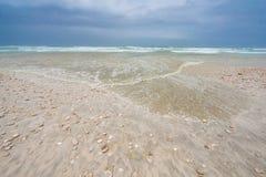 Strand in Slalah, Oman Stock Afbeeldingen