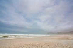 Strand in Slalah, Oman Royalty-vrije Stock Afbeelding