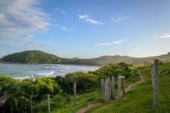 strand som ska bakkants Royaltyfria Bilder