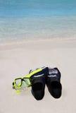 strand som snorkeling Royaltyfri Bild