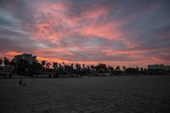 Strand-Sonnenaufgang Stockfotos