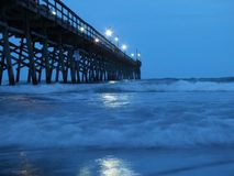 Strand South Carolina arkivbilder