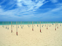 strand spain royaltyfri bild