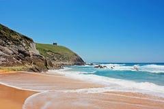 Strand in Spanien Stockfotos