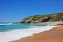 Strand in Spanien Lizenzfreies Stockbild