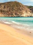 Strand in Spanien Lizenzfreie Stockfotografie