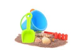 Strand-Spielwaren Lizenzfreie Stockfotos