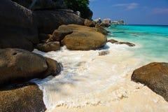 strand steniga thailand Arkivfoton