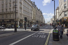 Strand street in London at day timE Royalty Free Stock Image
