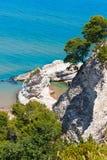 Strand Summer Lido di Portonuovo, Italien Stockbild