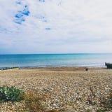 Strand Sussex royalty-vrije stock afbeeldingen