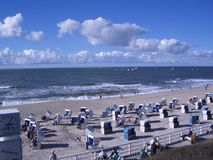 Strand Sylt Royalty-vrije Stock Afbeelding