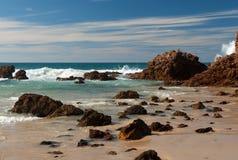 Strand-Szene lizenzfreies stockfoto