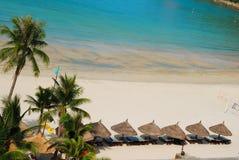Strand-Szene lizenzfreie stockbilder