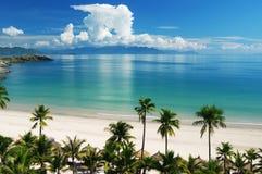 Strand-Szene Stockbild