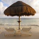 Strand-Szene nahe Acapulco in Mexiko Lizenzfreie Stockbilder