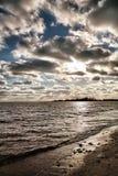 Strand-Tag lizenzfreie stockfotografie