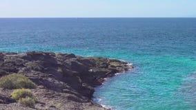 Strand in Teneriffa stock video